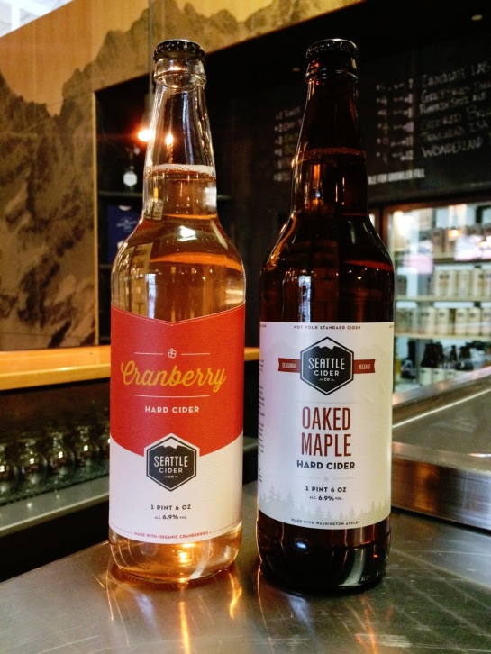 Cranberry Cider And Oaked Maple Cider From Seattle Cider Co.