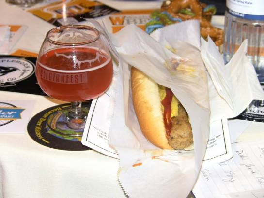Belgian Fest Lunch From Dante's Inferno Dogs