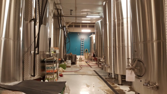 The Tanks At Seattle Cider Company