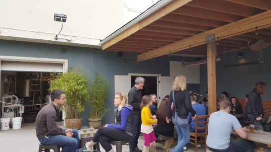 The Expanded Patio At Standard Brewing Company