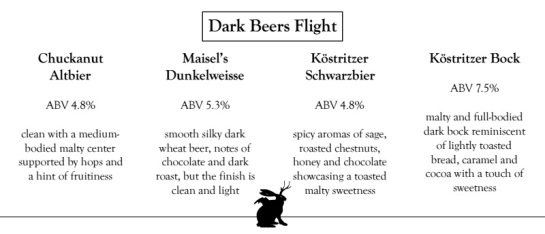 DarkBeersFlight