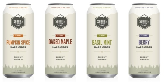 Seattle Cider Company Seasonal Ciders