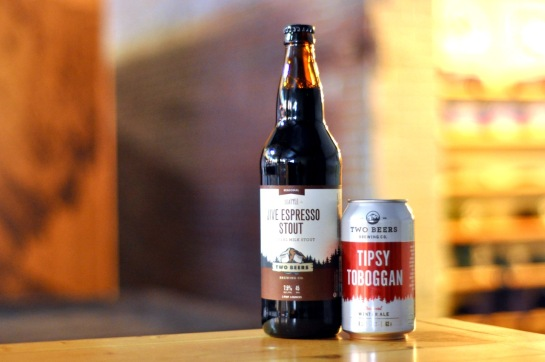Jive Espresso Stout & Tipsy Toboggan - Both Available November 5th