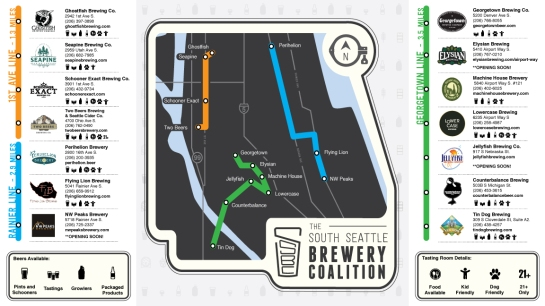 The South Seattle Brewery Coalition Wants You To Be Disloyal
